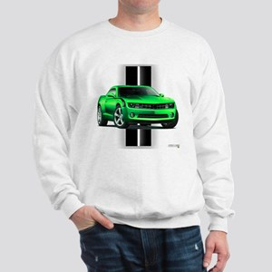 New Camaro Green Sweatshirt