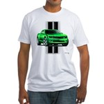 New Camaro Green Fitted T-Shirt