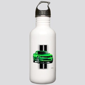 New Camaro Green Stainless Water Bottle 1.0L