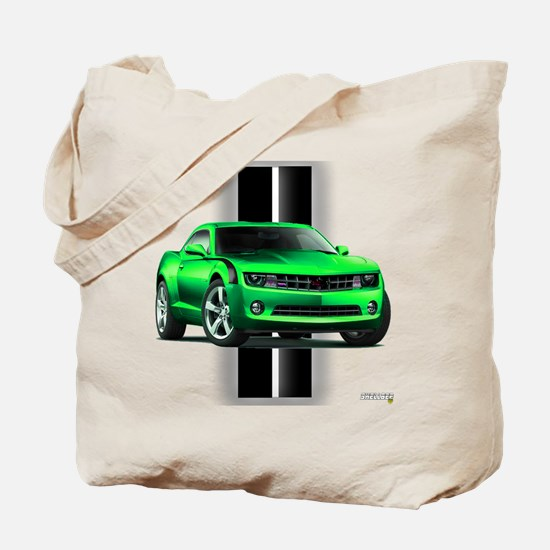 New Camaro Green Tote Bag