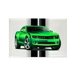 New Camaro Green Rectangle Magnet (100 pack)