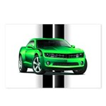 New Camaro Green Postcards (Package of 8)