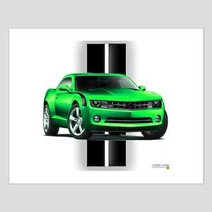 New Camaro Green Small Poster