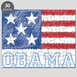 Obama Flag Puzzle