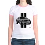 New Camaro Gray Jr. Ringer T-Shirt