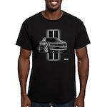 New Camaro Gray Men's Fitted T-Shirt (dark)