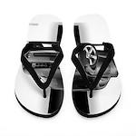 New Camaro Gray Flip Flops