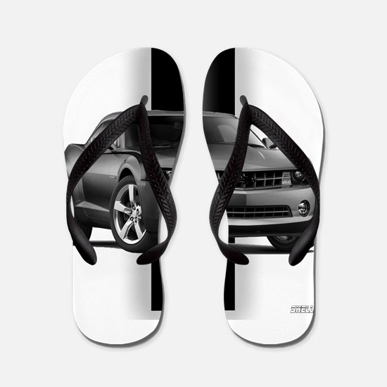 New Camaro Gray Flip Flops