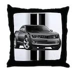 New Camaro Gray Throw Pillow