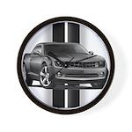 New Camaro Gray Wall Clock