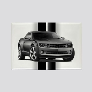 New Camaro Gray Rectangle Magnet