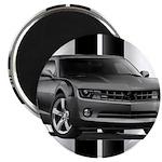 New Camaro Gray Magnet