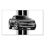 New Camaro Gray Sticker (Rectangle 10 pk)