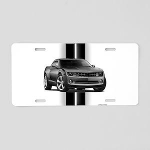 New Camaro Gray Aluminum License Plate