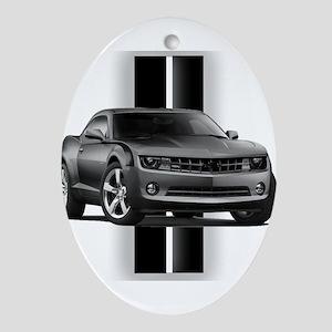 New Camaro Gray Ornament (Oval)