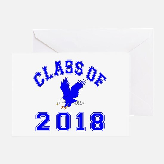 Class Of 2018 Eagle Greeting Card