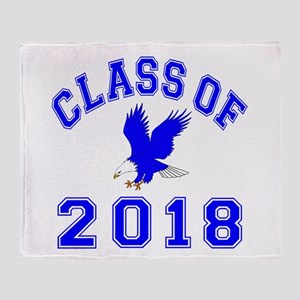 Class Of 2018 Eagle Throw Blanket