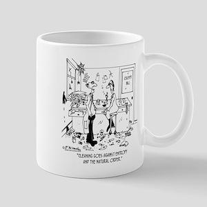Cleaning Goes Against Entropy Mug