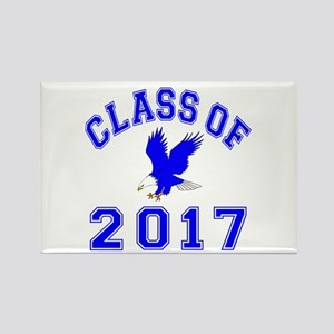 Class Of 2017 Eagle Rectangle Magnet