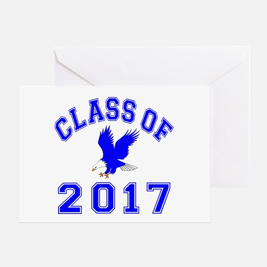 Class Of 2017 Eagle Greeting Card