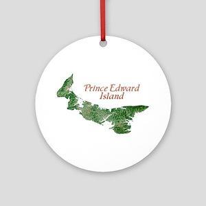 Prince Edward Island Ornament (Round)