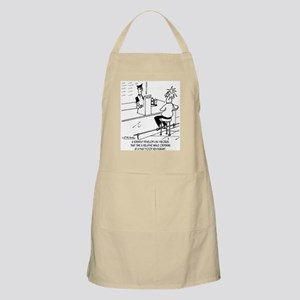 Time Is Relative With Fast Food Apron