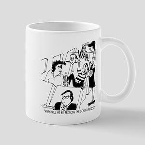 Breaking The Sound Barrier Soon? Mug