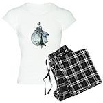 Midnight Rose Gothic Fairy Women's Light Pajamas