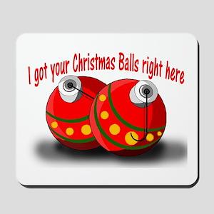 Christmas Balls Mousepad