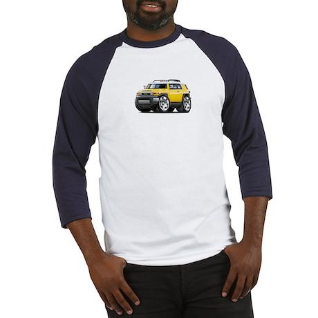 FJ Cruiser Yellow Car Baseball Jersey