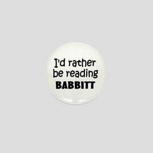 Reading Babbitt Mini Button