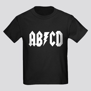 ABCD Rock N Roll Kids Dark T-Shirt