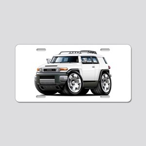 FJ Cruiser White Car Aluminum License Plate