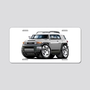 FJ Cruiser Silver Car Aluminum License Plate