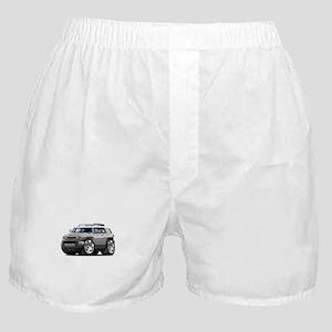 FJ Cruiser Silver Car Boxer Shorts