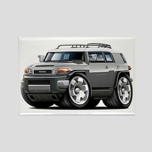 FJ Cruiser Grey Car Rectangle Magnet