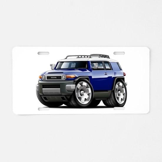 FJ Cruiser Dark Blue Car Aluminum License Plate