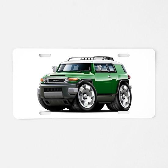 FJ Cruiser Green Car Aluminum License Plate