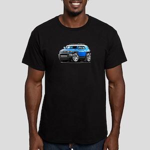 FJ Cruiser Blue Car Men's Fitted T-Shirt (dark)