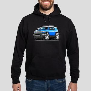 FJ Cruiser Blue Car Hoodie (dark)