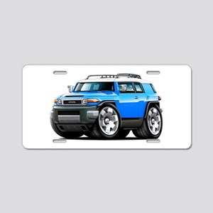 FJ Cruiser Blue Car Aluminum License Plate