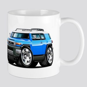 FJ Cruiser Blue Car Mug