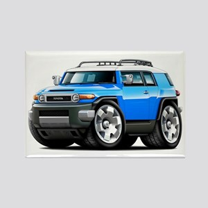 FJ Cruiser Blue Car Rectangle Magnet