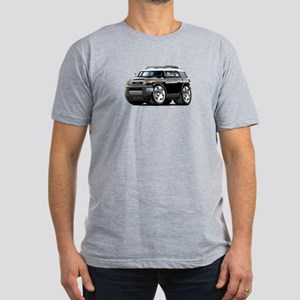 FJ Cruiser Black Car Men's Fitted T-Shirt (dark)