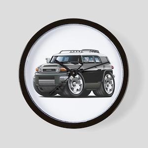 FJ Cruiser Black Car Wall Clock