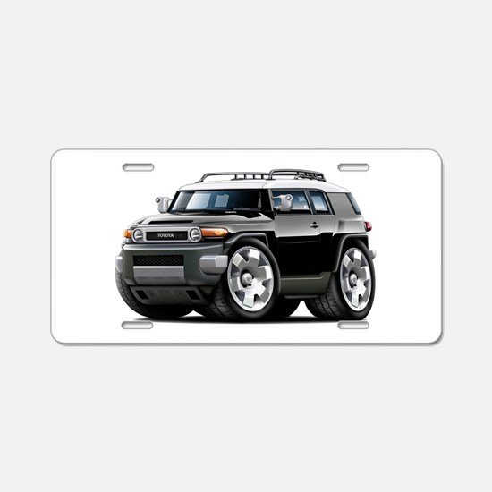 FJ Cruiser Black Car Aluminum License Plate