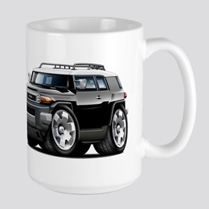 FJ Cruiser Black Car Large Mug