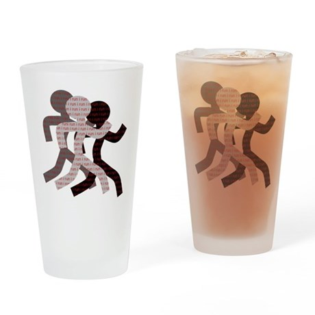 iRun Drinking Glass