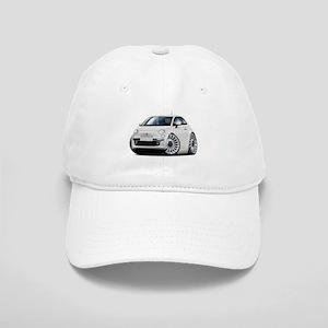 Fiat 500 White Car Cap