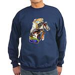 Carousel Horses Sweatshirt (dark)